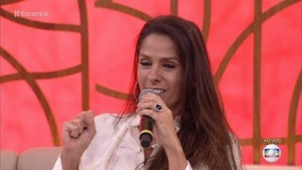 Adriane Galisteu fala sobre tratamentos para ter o segundo filho