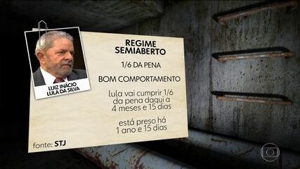 Redução da pena de Lula pode facilitar ida do ex-presidente para o regime semiaberto