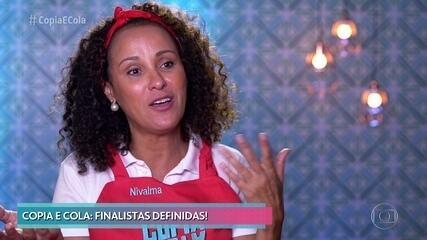 Nivalma é eliminada do 'Copia e Cola'