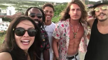 Hana mostra primeira viagem com integrantes da Gaiola