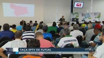 Chaves da 30ª edição da Taça EPTV de Futsal Sul de Minas são definidas