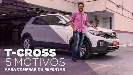 VW T-Cross - Conheça a versão mais barata e os 5 motivos para comprar e para repensar