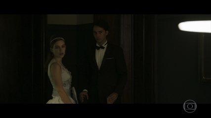 Cecília encontra Renato e Edson vê tudo, mas Isabel não nota o que se passa