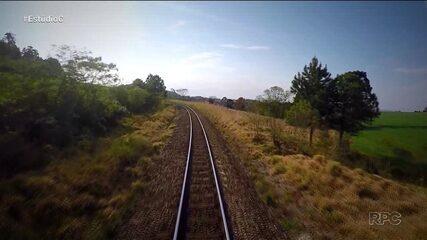 'Estúdio C' mostra as histórias das estradas de ferro do Paraná
