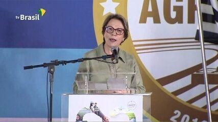 Ministra da Agricultura anuncia mais R$ 500 mi em financiamento de máquinas agrícolas