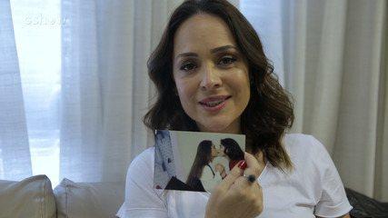 Gabriela Duarte relembra fotos da abertura de 'Por Amor'