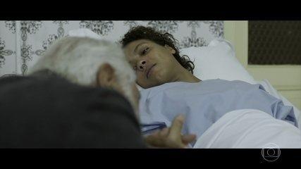 Ubiratan descobre que Maria Rosa é a filha da mulher dele