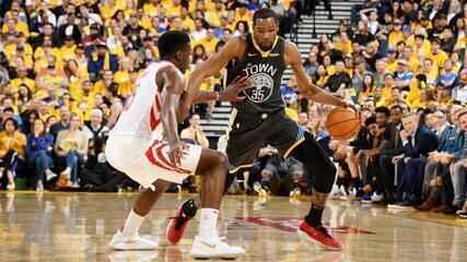 Melhores momentos: Houston Rockets 109 x 115 Golden State Warriors pela NBA