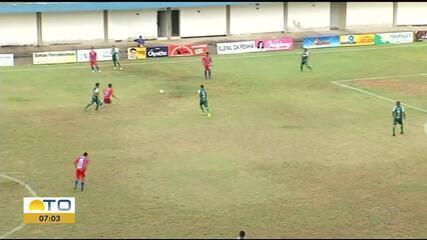 Araguaína empata com Tocantinópolis na 7ª rodada do Campeonato Tocantinense