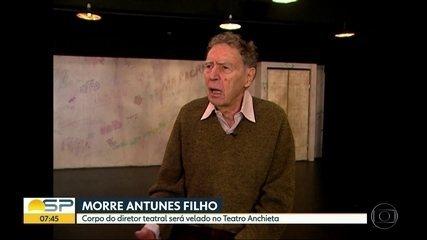 Antunes Filho, grande nome do teatro nacional, morre aos 89 anos em São Paulo