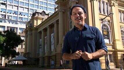 Neto Fagundes visita o Museu de Arte do Rio Grande do Sul no quadro De Mala e Cuia