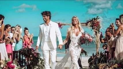 Polícia Civil decide indiciar marido da modelo Caroline Bittencourt por homicídio culposo