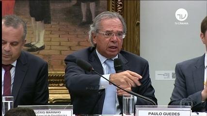 'Velha previdência é uma fábrica de privilégios', diz Paulo Guedes em audiência na Câmara