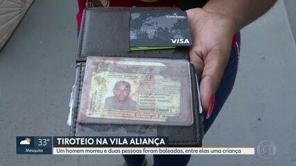Homem morre durante troca de tiros entre polícia e bandidos na Vila Aliança