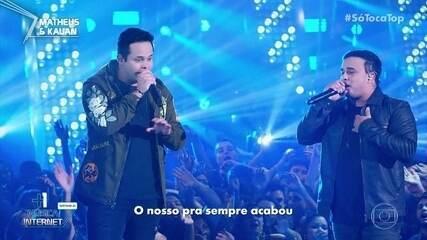 Matheus e Kauan cantam 'Vou Ter Que Separar'