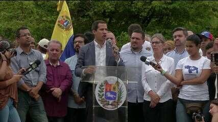 Guaidó busca Pentágono para discutir crise na Venezuela