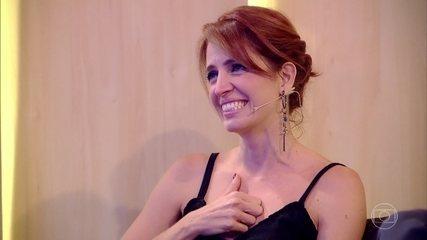Poliana Abritta se emociona com homenagem feita pela Família