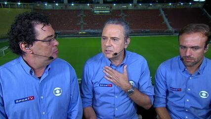 Comentaristas analisam vitória do Santos diante do Vasco e atuação de gala de Rodrygo