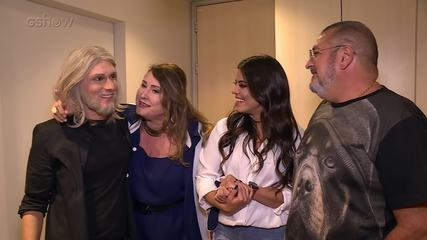 Hugo Bonemer surpreende a mãe com homenagem no 'Show dos Famosos'