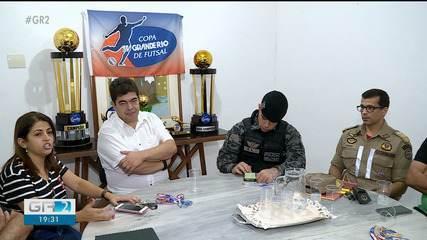 Reunião define detalhes da final da 23ª Copa TV Grande Rio de Futsal
