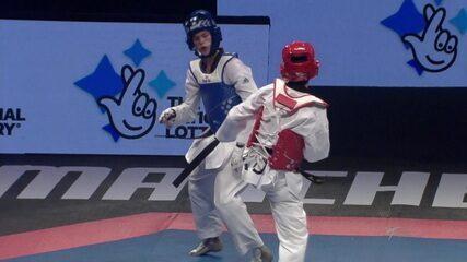 Paulo Ricardo Melo conquista medalha de bronze no Campeonato Mundial de taekwondo