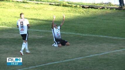 Os gols da vitória do ASA o Campinense por 2 a 1