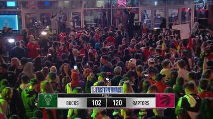 Melhores momentos: Toronto Raptors 120 x 102 Milwaukee Bucks pela NBA