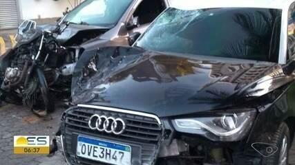 Acidente deixa dois mortos na Terceira Ponte, na Grande Vitória