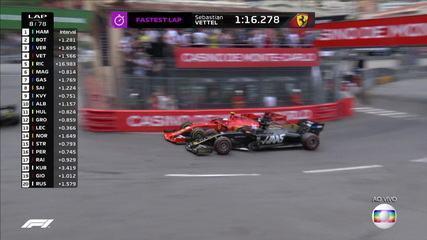 Sensacional Leclerc! Piloto faz linda ultrapassagem em Grosjean