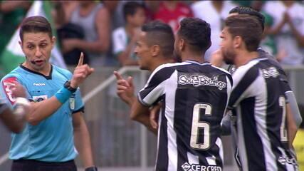 Botafogo perde para o Palmeiras, mas alega uso ilegal do VAR para pedir anulação do jogo