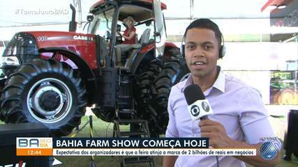 Bahia Farm Show tem início nesta terça (28) e deve movimentar cerca de R$ 2 bilhões
