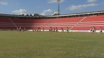 Bilheteria do Estádio Teixeirão vira casa para funcionário do clube