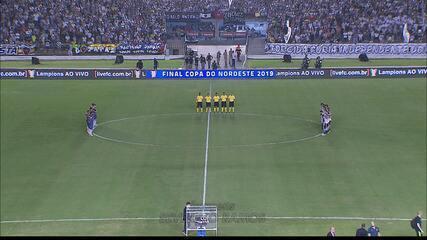 Botafogo-PB perde para o Fortaleza em noite de festa e homenagem no Almeidão