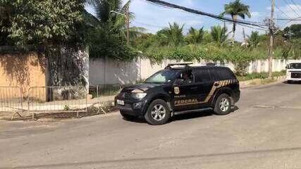 Eduardo Cunha chega ao Complexo Penitenciário de Gericinó