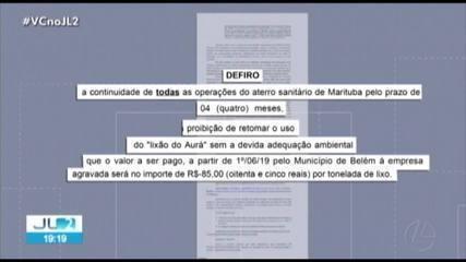 Decisão da Justiça mantém aberto Aterro Sanitário de Marituba por quatro meses