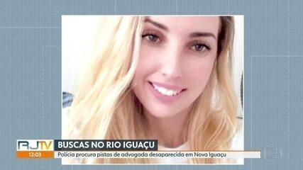 Polícia faz buscas no Rio Iguaçu pela advogada desaparecida desde segunda (27)