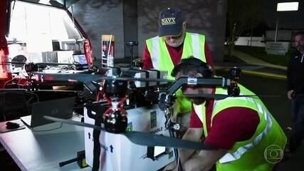Em operação inédita, drone é usado para transportar rim nos Estados Unidos