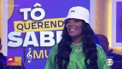 Ludmilla fala sobre o namoro com Brunna Gonçalves