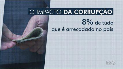 Um mês de trabalho no ano vai cobrir o rombo da corrupção nos cofres públicos