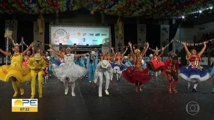 Seis grupos brilham no segundo dia de seletivas do Festival de Quadrilhas Juninas da Globo