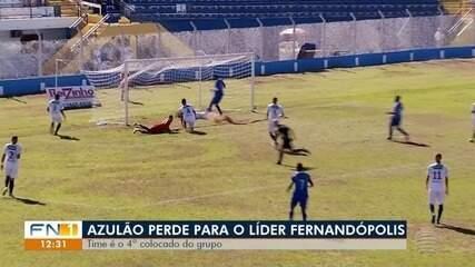 Osvaldo Cruz perde em Fernandópolis, pela 11ª rodada da Segundona