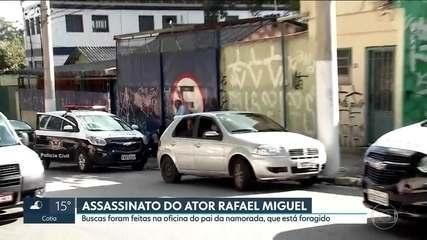 Polícia faz buscas por assassino do ator Rafael Miguel