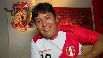 Conheça torcedor peruano que irá na Copa América, em Porto Alegre