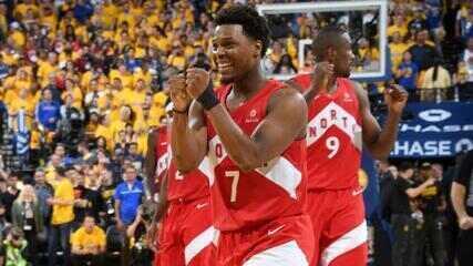 Melhores momentos: Golden State Warriors 110 x 114 Toronto Raptors pela final da NBA