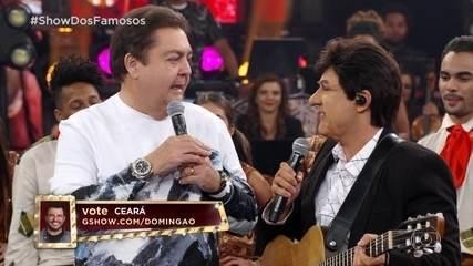 Ceará recebe notas dos jurados no Show dos Famosos