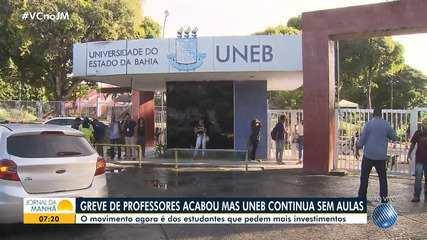 Estudantes da UNEB fazem greve em Salvador e Eunápolis