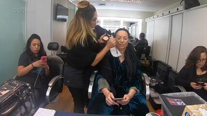 Veja caracterização de Solange Almeida para homenagear Fafá de Belém no 'Show dos Famosos'