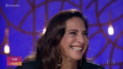 Totia Meireles se emociona com recado da irmã Luquinha