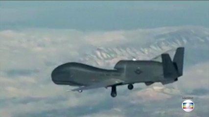 Drone dos EUA é abatido por forças iranianas enquanto sobrevoava o estreito de Ormuz