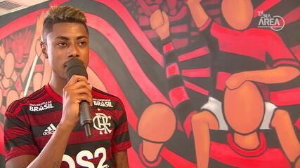 Confira a luta de Bruno Henrique para melhorar sua nota no Futeokê